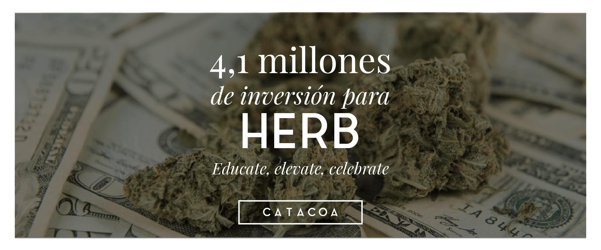 La página de contenido de Cannabis HERB recibe $4.1 Millones de dolares de inversión