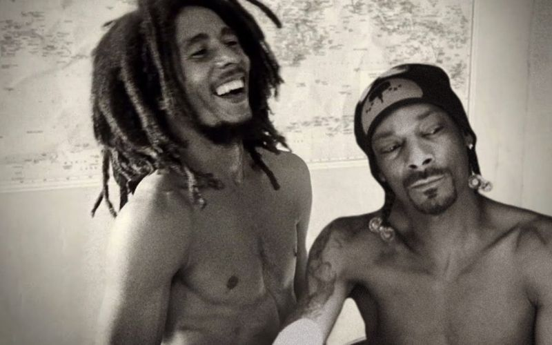 Snoop Dogg y Bob Marley